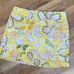 J.Crew vintage linen skirt 6